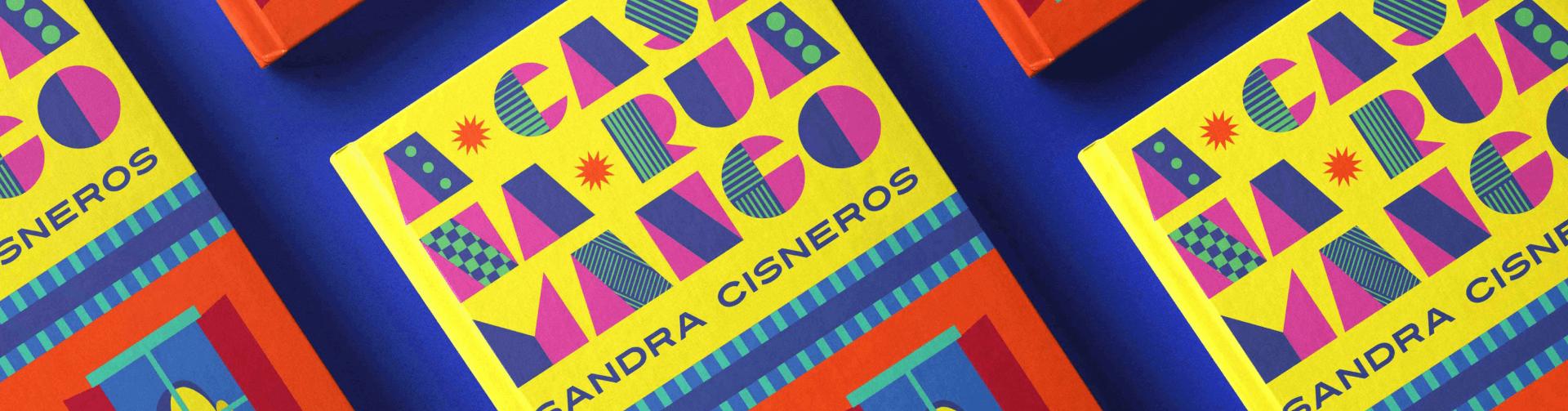 Capa do livro A casa na Rua Mango de Sandra Cisneros
